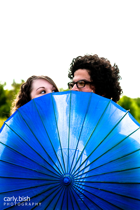 Remember that blue parasol I tweeted about a few days ago???