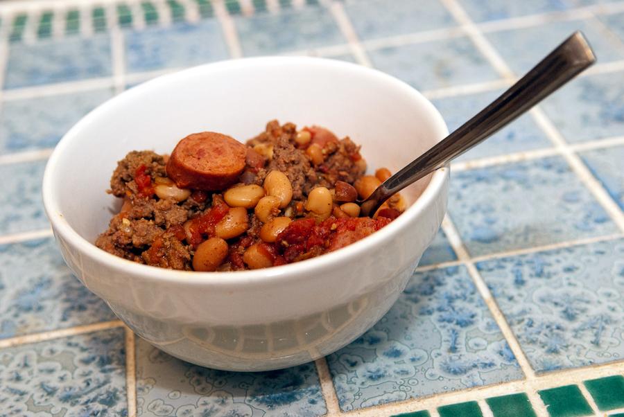 My biotchin' chili recipe!