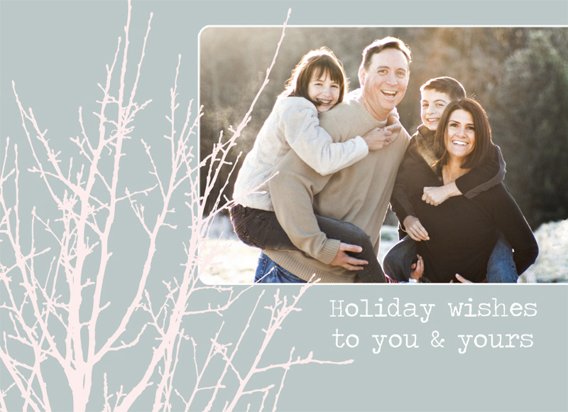 Holiday Card  Free Template Download  CarlybishCom